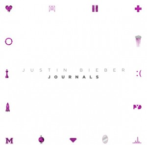 Justin Bieber journals cover
