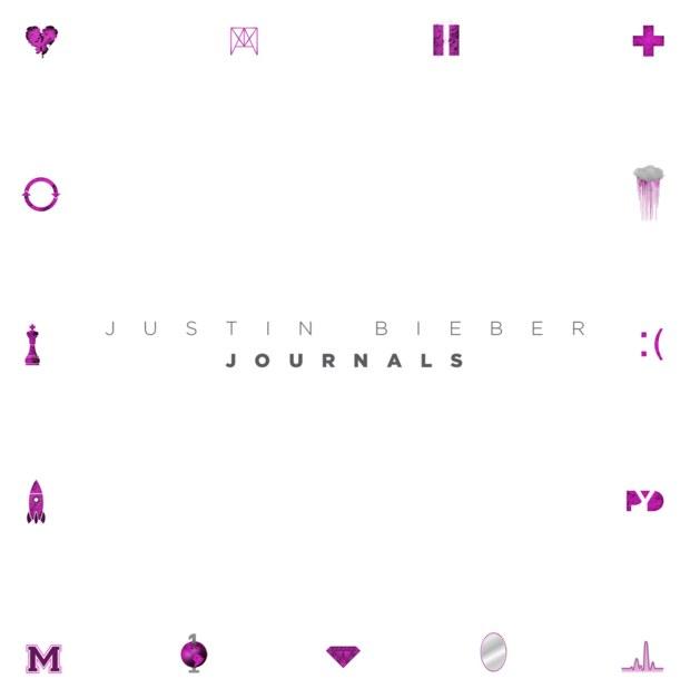 Justin Bieber journals cover
