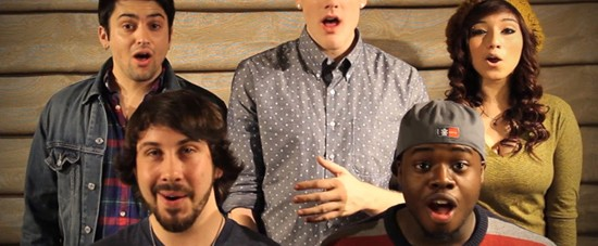A capella group Pentatonix