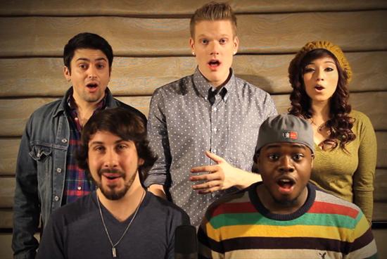 A capella group Pentatonix
