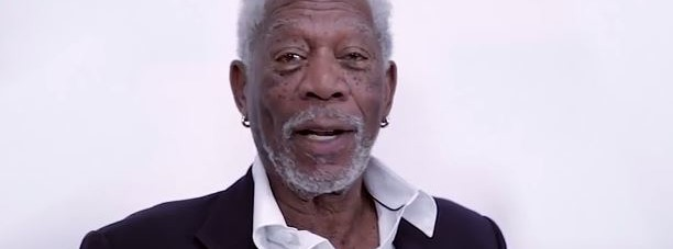 Morgan Freeman recites Justin Bieber
