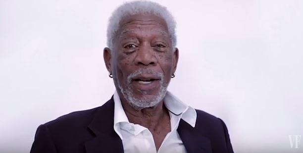Morgan Freeman recites Justin Bieber